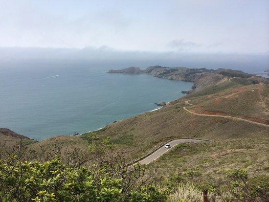 Marin Headlands: The costline road