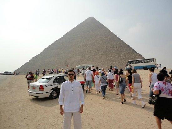 Pyramide de Khéops : Giza, Cairo