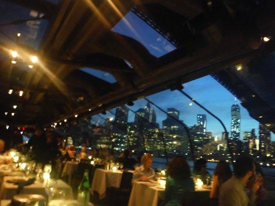 Bateaux New York: As the sun sets aboard the Bateaux..