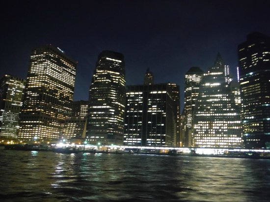 Bateaux New York: NYC from the deck outside