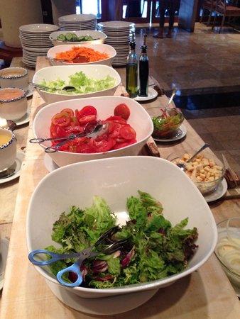 Ayodya Resort Bali: Salad at breakfast