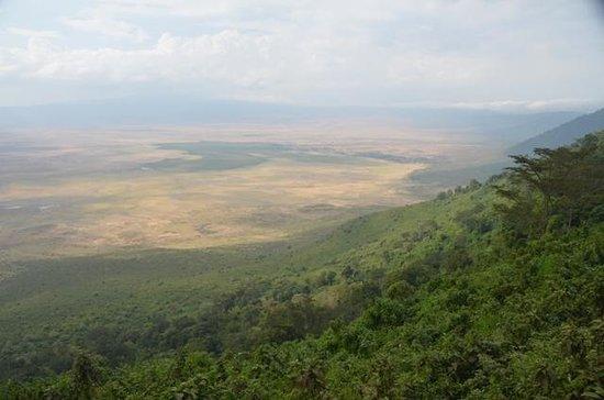 Ngorongoro Sopa Lodge: View from lodge