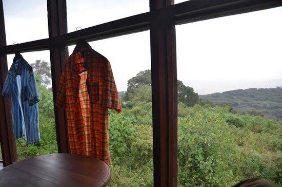 Ngorongoro Sopa Lodge: View from room