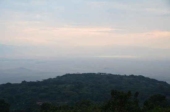 Ngorongoro Sopa Lodge: View from room