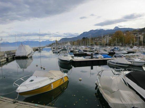 Lac Leman: Le port touristique