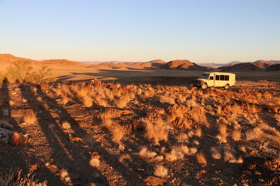 Wilderness Safaris Kulala Desert Lodge: A beautiful spot for a sundowner!