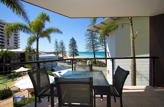 The Beach Retreat Coolum: 1 Bedroom Ocean View Apartment