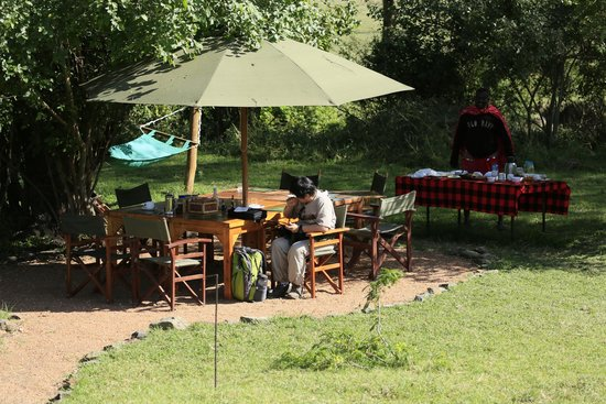Porini Mara Camp: Dining
