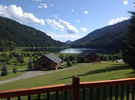 Alpine Meadows Resort: The view from chalet 120.