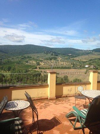 Villa Guarnaschelli: Terrace