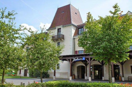 Radisson Blu Hotel at Disneyland Paris : Eingang