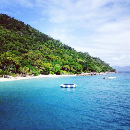 Fitzroy Island Resort: Arriving onto the island by ferry