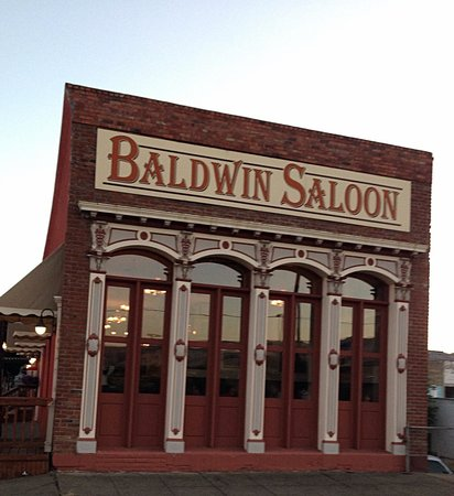 Baldwin Saloon: Gorgeous, iconic Western frontier building.