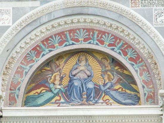 Piazza dei Miracoli : PISA,il DUOMO,BEATA MARIA,di GIUSEPPE MODENA,da LUCCA.