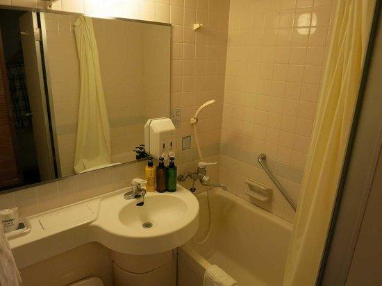 Hotel WBF Art Stay Naha: バスルーム