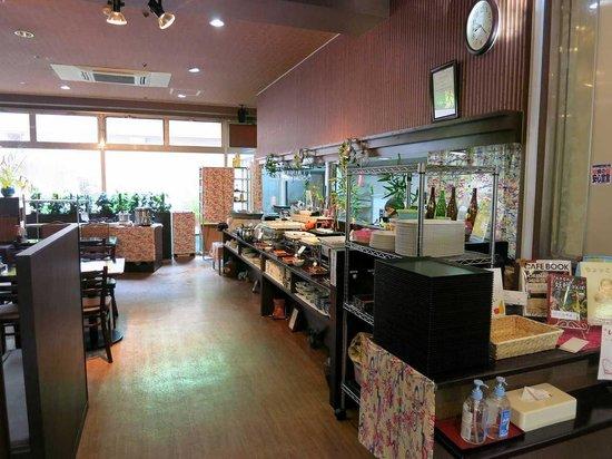 Hotel WBF Art Stay Naha: 朝食会場