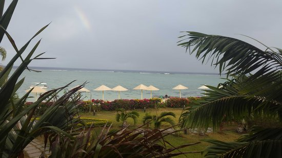 Pearle Beach Resort & Spa : View from our room