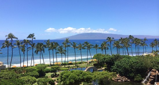 Hyatt Regency Maui Resort and Spa: Our Partial Ocean View Room