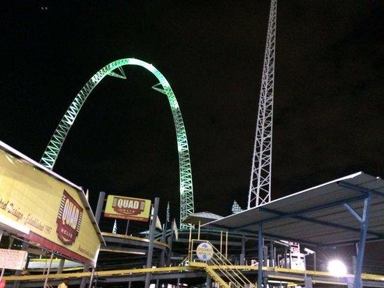 Fun Spot America: The sky coaster ( fantastic)