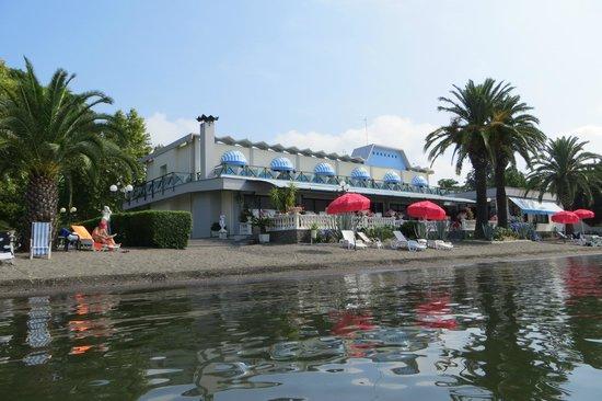 Hotel Restaurant Lido : la spiaggia