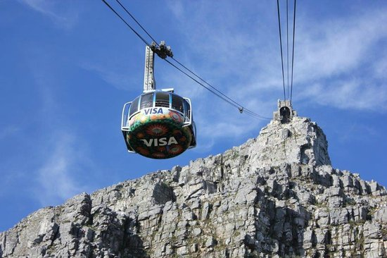 Table Mountain: Cable car