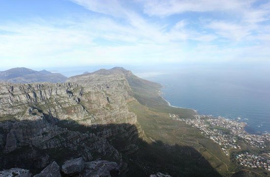 Table Mountain: View near the restaurant