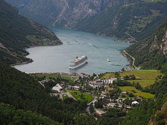 Geiranger Fjord : Le fjord de Geiranger