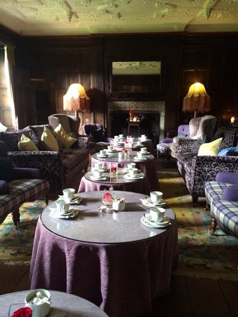 Roman Camp Hotel: Tea time organized in the Library