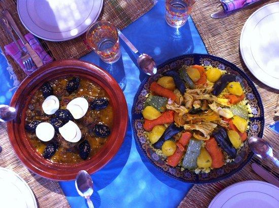 Maison D'hôtes Restaurant Chez L'Habitant Amazigh : pranzo per 3 persone