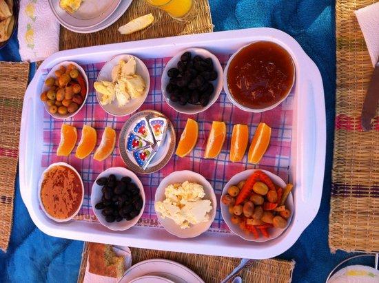 Maison D'hôtes Restaurant Chez L'Habitant Amazigh : colazione