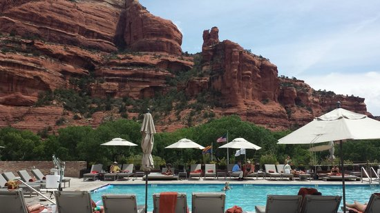 Enchantment Resort: Devine view from Enchantment pool