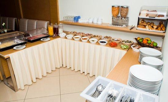 Hotel Port: open buffet ontbijt