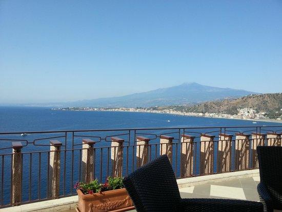 Atahotel Capotaormina : vista piscina