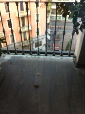BEST WESTERN PLUS Hotel Galles : Affaccio sulla metro Lima