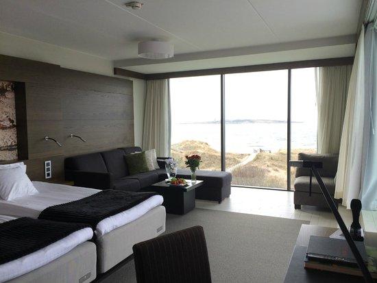 Hotel Tylosand: Underbart rum med terass
