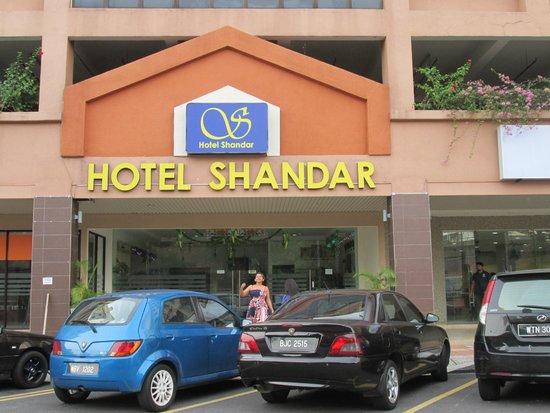 Hotel Shandar: Entrance