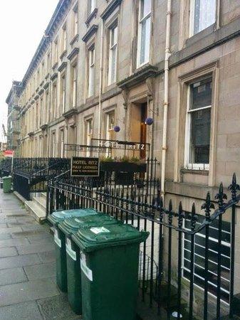 Ritz Edinburgh : Exterior