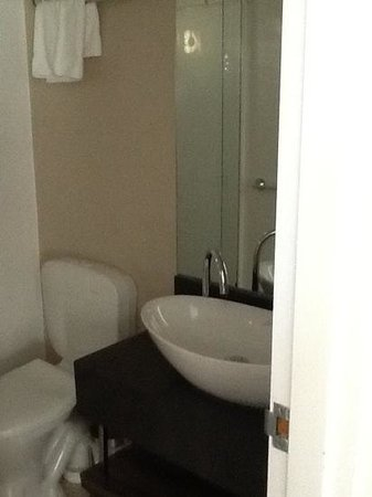 Mercure Wellington Central City Hotel and Apartments: Bathroom