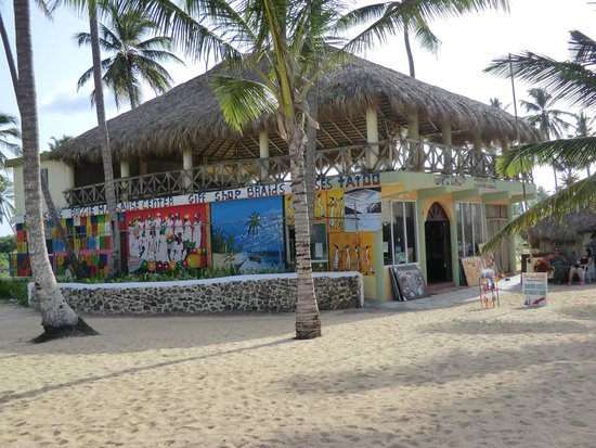 Sirenis Punta Cana Resort Casino & Aquagames: commerce sur la plage de l'hôtel