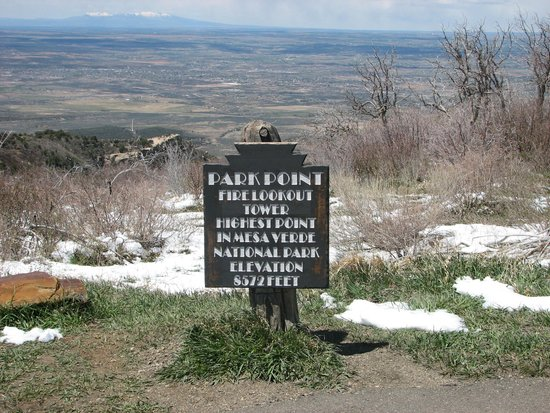 Park Point signage
