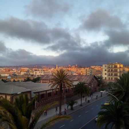 Cathedral of Asmara: Over veiw.
