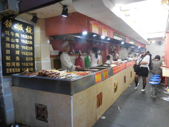 Old Town of Lijiang - China: Food shop