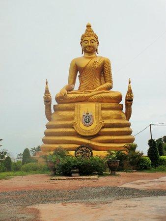 Großer Buddha von Phuket: A golden buddha