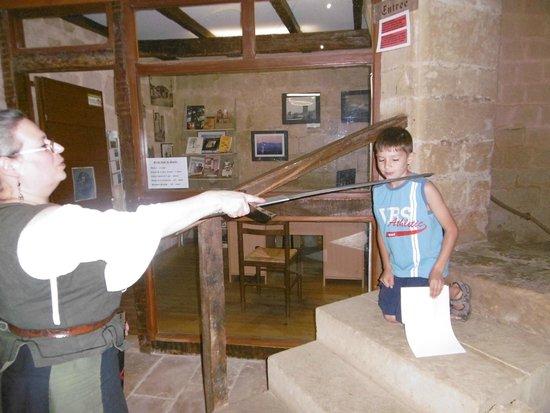 Bassoues, ฝรั่งเศส: Sacre du petit chevalier