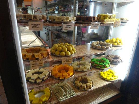 Rasoi Vegetarian Restaurant : Front window display