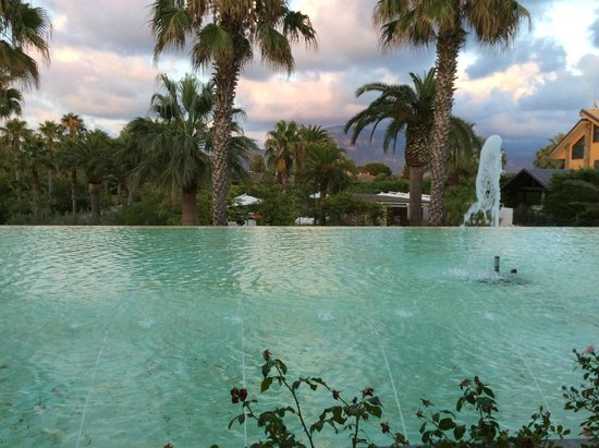 Tre Olivi: piscina del ristorante