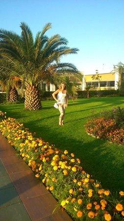 Kervansaray Hotel Kundu : areál