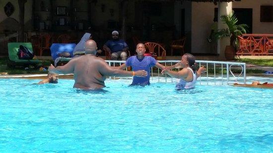 Neptune Beach Resort: Утренняя зарядка