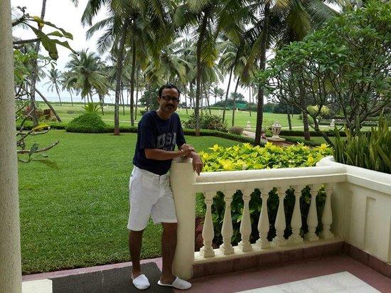 Taj Exotica Resort & Spa Goa : Verandah View