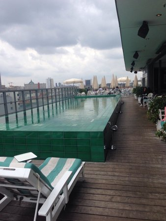 Soho House Berlin: Roof terrace darling